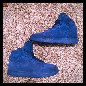 💙Air Jordan 1 Retro High Blue Suede💙